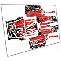 Team RCMZ V2 Dragon Hammer Body Wrap Kit