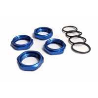 GTB Losi 5ive-T Spring Tension Nuts 4pk