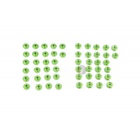 Area RC Body Washers - Green