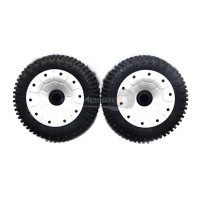 30 Degree North 'Signature' Mini-Pin Wheels White