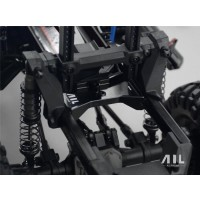 All Racing Traxxas TRX4 Alloy Rear Chassis Cross Member - Black