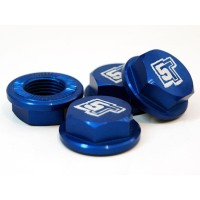 UberRC Enclosed Wheel Nuts 5ive-T - x4 Blue