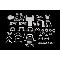 King Motor Dyeable White Nylon Kit for KM Buggies