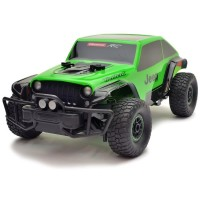 Carrera Jeep Trailcat Green 1/18th Scale