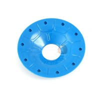 Enclosed outer beadlock Blue (4pc)