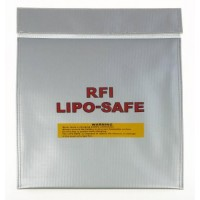 Fireproof RC Li-Po Battery Safe Sack - Large