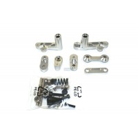 Alloy Servo Saver Arm Set Silver