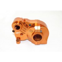Triple Piece Alloy Gearbox Orange