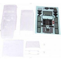 Traction Hobby Founder Body Set CLEAR