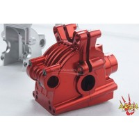 AREA RC - Front & Rear Alloy Diff for MCD RR5 - Red