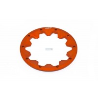 King Motor Alloy Beadlock Outer Orange