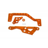 HD Alloy Engine Mounts and Brace Orange