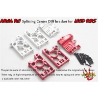 Area Rc Splitting Centre Diff Bracket for MCD RR5 - Silver