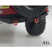 All Racing Traxxas TRX4 Alloy Shackles - Red