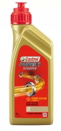 Castrol Power 1 2T Scooter Part Synthetic Low Smoke 2 stroke oil