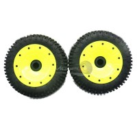 30 Degree North 'Signature' Mini-Pin Wheels Yellow