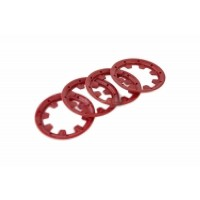 MadMax Strong Nylon Outer Beadlocks Red