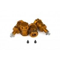 MadMax Axle Extenders With Locking Nut - Orange