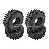 "RC Crawler Tyres with Foams for 1.9"" Wheels (120x43mm)"