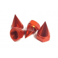 Spiked Wheel Nuts For KM X2, Losi 5ive and Dbxl Red