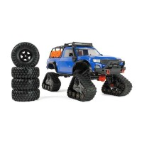 Traxxas TRX-4 Trail Rock Crawler with All-Terrain Traxx - Blue