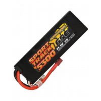 5300mAh 2S 7.4v 55C LiPo Battery in Hard Case EC5 Overlander Sport Track