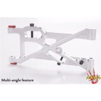 Area RC Alloy Rear Suspension Arm for MCD RR5 - Silver