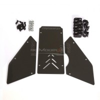 Full-Force RC Front/Side Window Set for HPI Baja 5B - Smoked