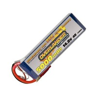 5000mAh 4S 14.8v 35C LiPo Battery - Overlander Supersport Pro