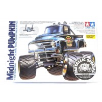 Tamiya Midnight Pumpkin Metalic Monster Truck Build Kit