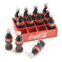 Fastrax Scale Soft Drinks Crate W/Bottles