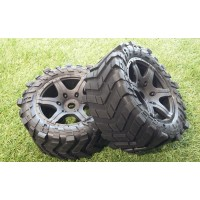 MadMax Super Heavy Duty Tire Wheel Pair