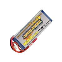 1600mAh 3S 11.1v 35C LiPo Battery - Overlander Supersport Pro
