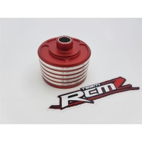 Atop RC Alloy One-Piece Center Diff Housing - Red