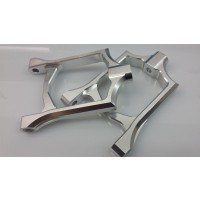 GTB Alloy Front Upper Arms - Silver