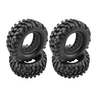 "RC Crawler Tyres with Foams for 1.9"" Wheels (95x38mm)"