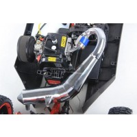 Rovan Tuned Silenced Performance Pipe for KM X2 & Losi 5ive-T