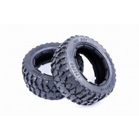 Rovan Gravel Buggy Tyres Front Pair