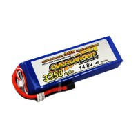 3350mAh 4S 14.8v 35C LiPo Battery - Overlander Supersport Pro