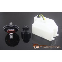 FID Racing 2 Speed Transmission with 870mL Fuel Tank for Losi DB XL