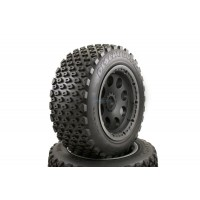 Buster Truck Wheels Black Buster Rims Rear Pair