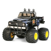 Tamiya 1/10 Midnight Pumpkin Black Edition Monster Truck Build Kit