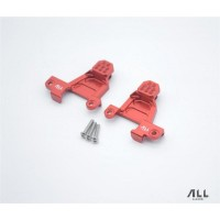 All Racing Traxxas TRX4 Alloy Rear Shock Towers - Red