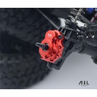 All Racing Traxxas TRX4 Alloy Portal Drive Housing's (Outer) - (Front or Rear) - Silver