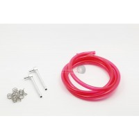 Atop RC Hi Flow Fuel Line Kit Wine Red