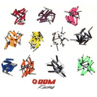 "DDM ""Easy Grip"" 8mm Body Clips (10) Red"
