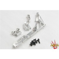 AREA RC Rear Chassis Brace For MCD RR5 - Silver