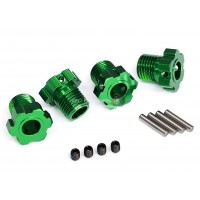 Traxxas Maxx/E-Revo Wheel hubs, splined, 17mm Green
