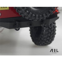 All Racing Traxxas TRX4  Alloy Shackles - Black