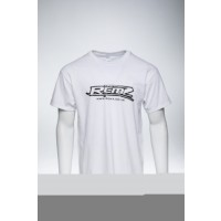 Team RCMZ White Roundneck T-shirt Front Design